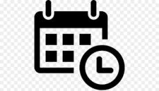 Kalender und Uhr Symbol