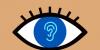 Symbol Auge Ohr